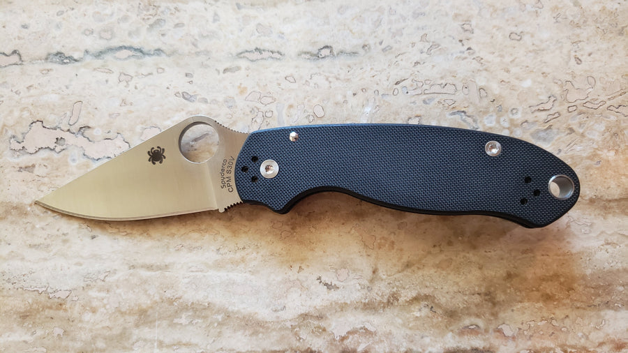 Spyderco Para 3 Compression Lock Knife G-10 C223GP