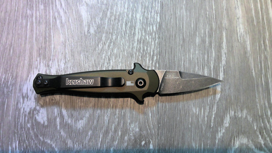 Kershaw Launch 12 CA Legas 7130OLBW Automatic Knife