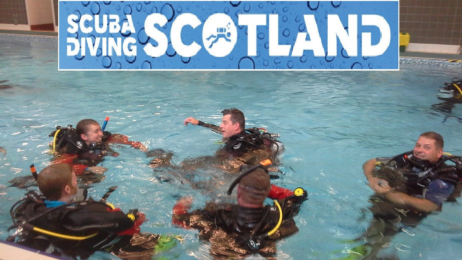 SCUBA DIVING SCOTLAND - Pool Session 28th June 2017 at Cleveden Pool.
