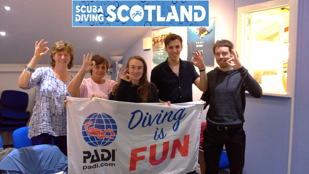 PADI Open Water Course Class session Sat 12th Aug 2017
