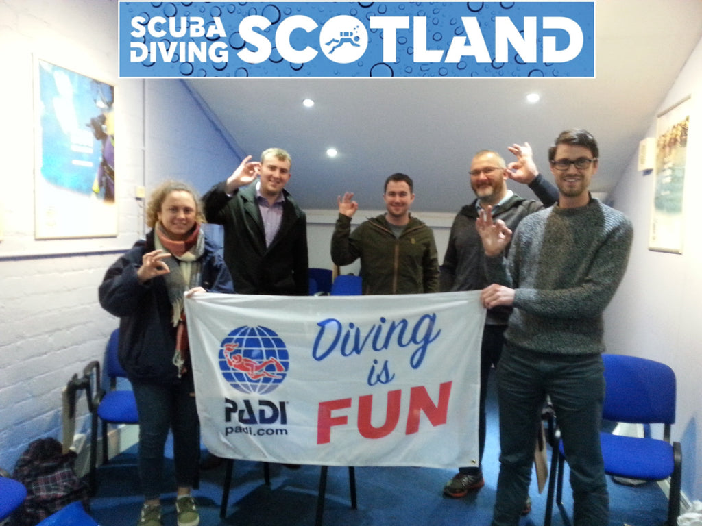 PADI Open Water Class October 2017