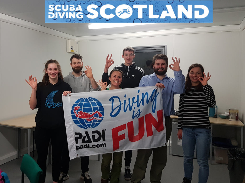 PADI Open Water Course February 2019 - Class session