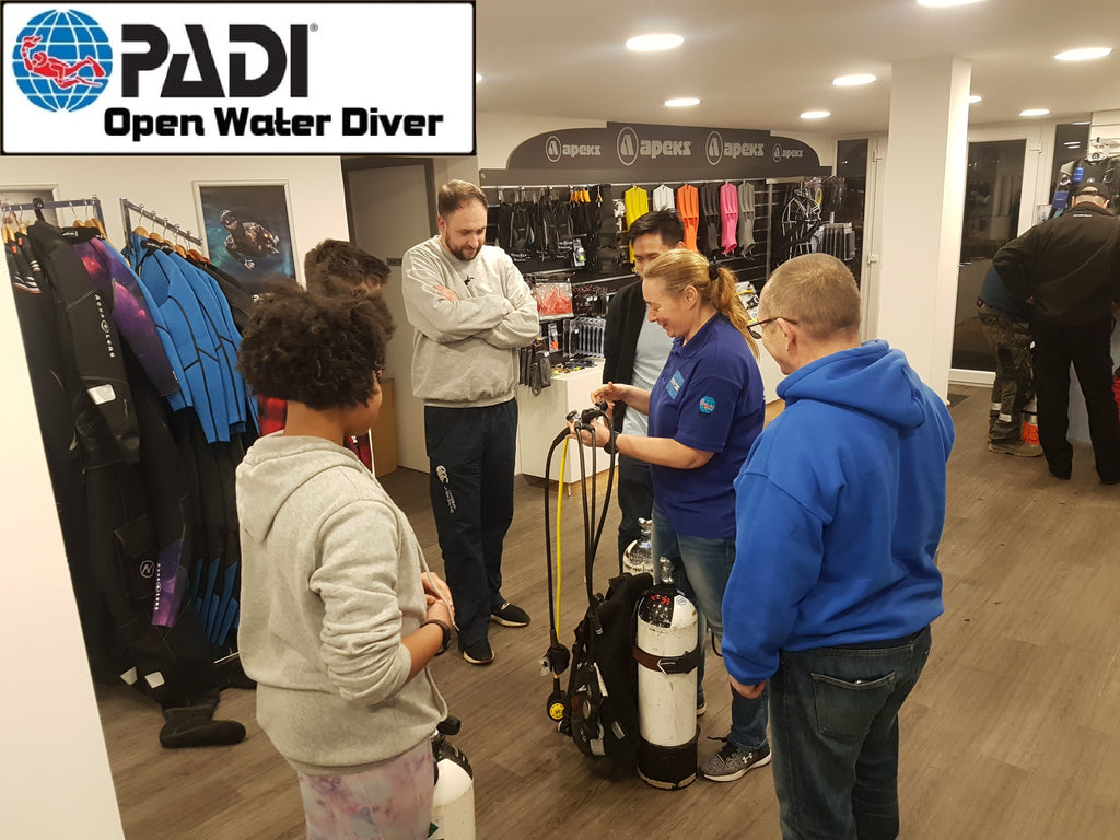 PADI Open Water Jan 2020 Update