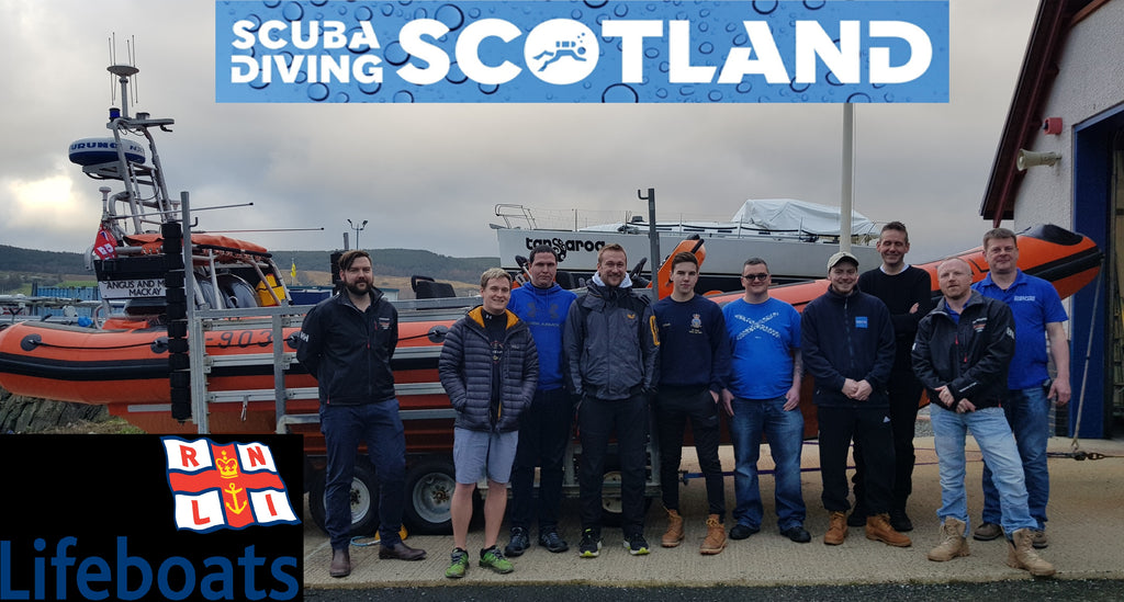 RNLI Diver Sea Survival Course 25th Jan 2020