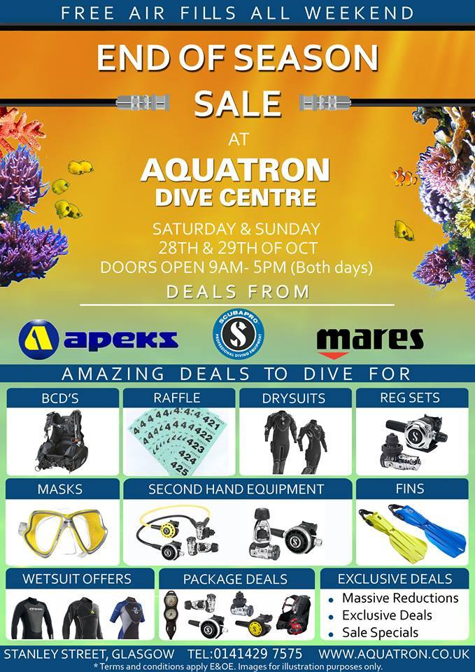 AQUATRON END OF SEASON SALE EXTRAVAGANZA 2017