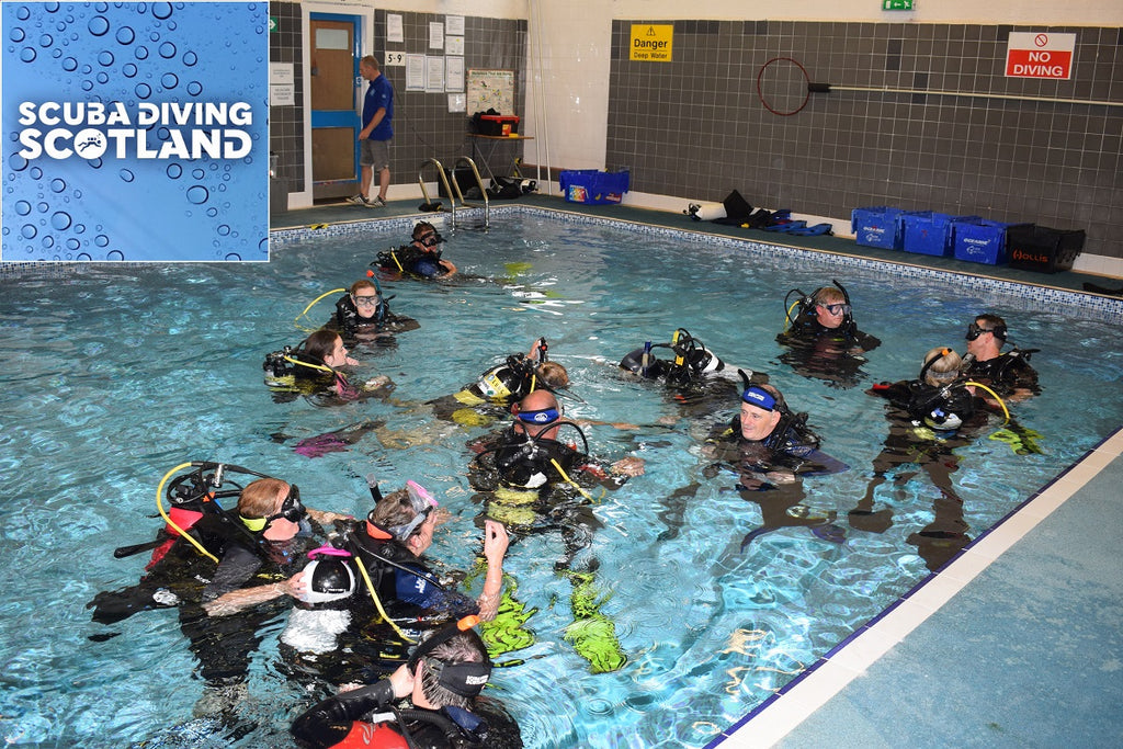 Pool Night Wednesday 6th Sept 2017 - PADI Open Water & Scuba Review