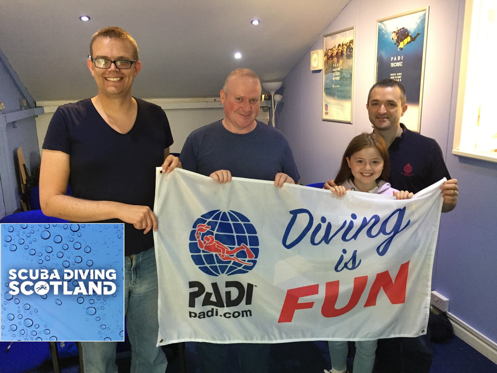 PADI Equipment Speciality at SCUBA DIVING SCOTLAND - 1st July 2017
