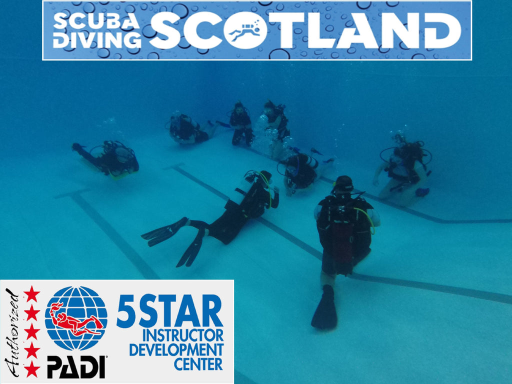 SCUBA DIVING SCOTLAND - Pool Session 31st Jan 2018