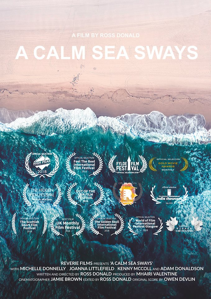 Congratulations to Reverie Films for their local production of A Calm Sea Sways