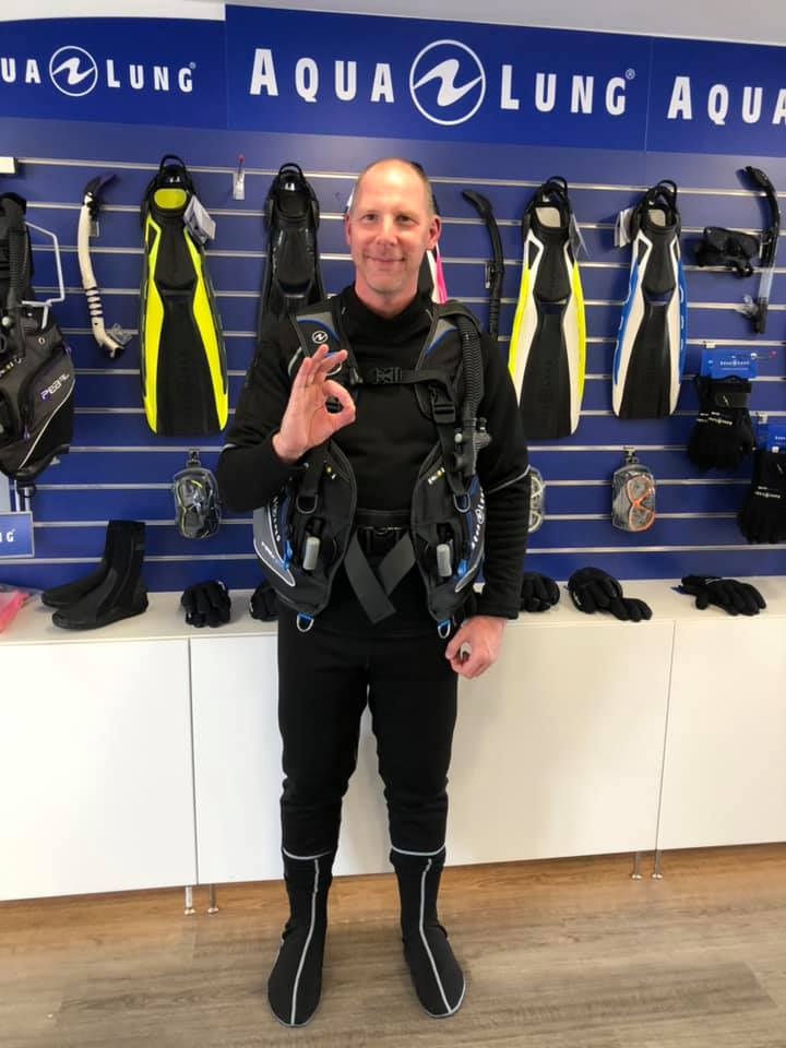 Andy Horne's New Dive Kit - August 2019
