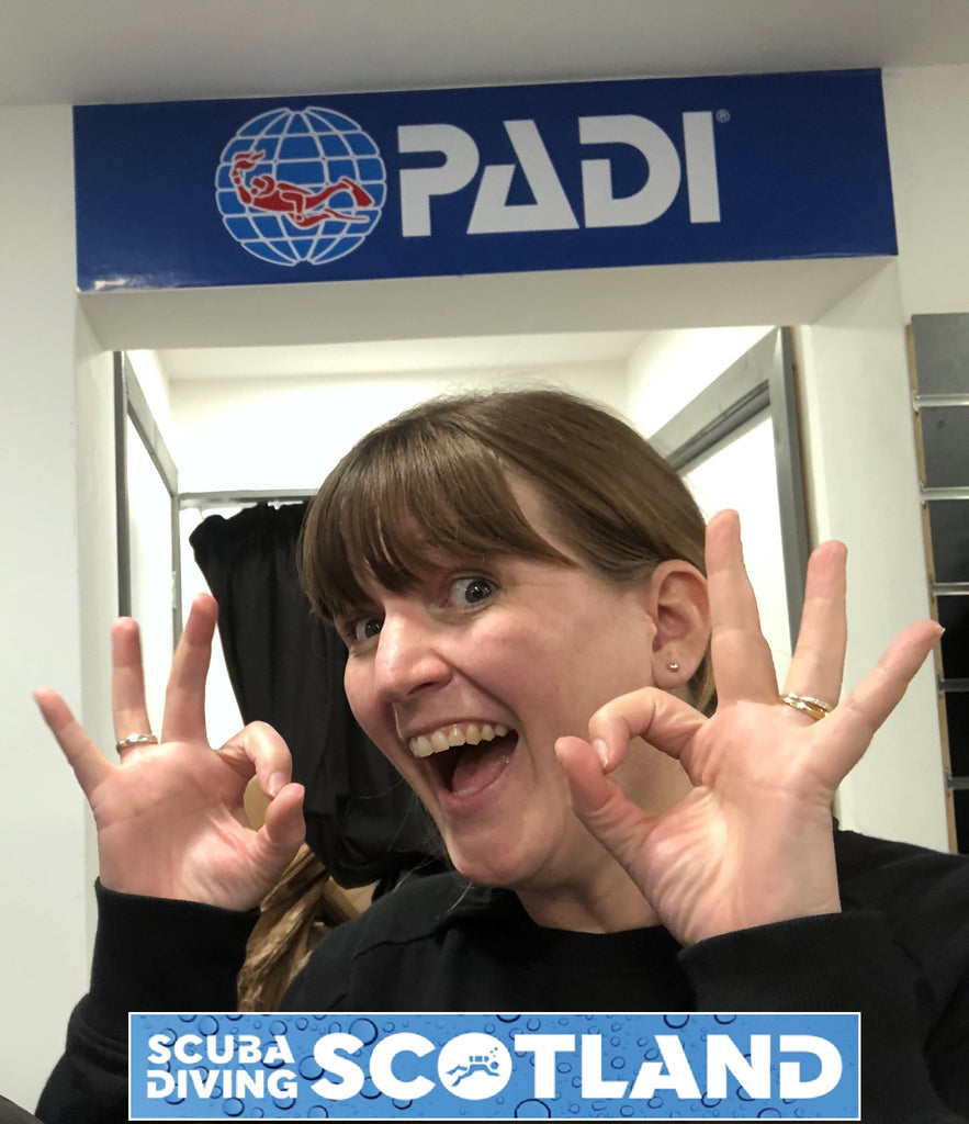 Visit from PADI Regional Manager Emily- Sept 2019