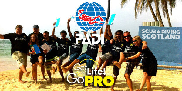 PADI Pro Night 1st June 2017 6pm-7pm - How To Become A PADI Instructor