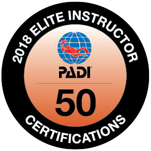 Congratulations to PADI Elite Instructors Tom Feehan and Chris McKendry