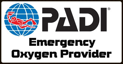 EFR First AID and PADI Emergency Oxygen Provider Courses - Sat 21st July 2018