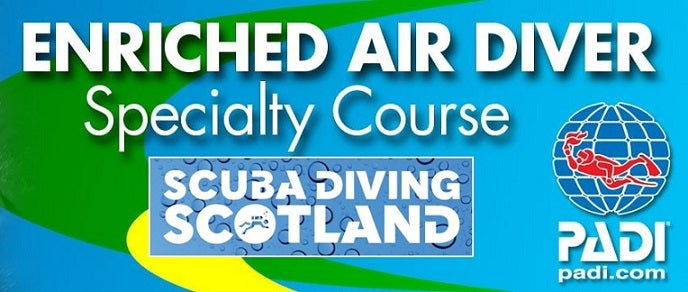 PADI Enriched Air Nirtox Specialty Course - 6th October 2018