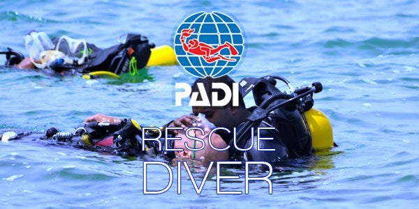 PADI Rescue Course July 2019