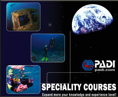 PADI P.P.B. & Navigation Specialities this Sunday 9th April 2017