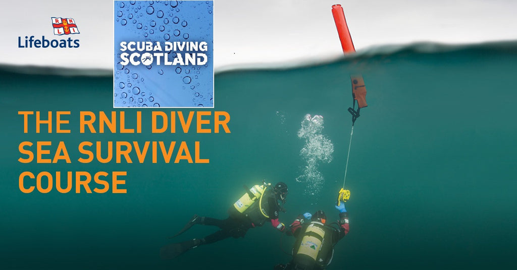 PADI RNLI Diver Sea Survival Course at SCUBA DIVING SCOTLAND