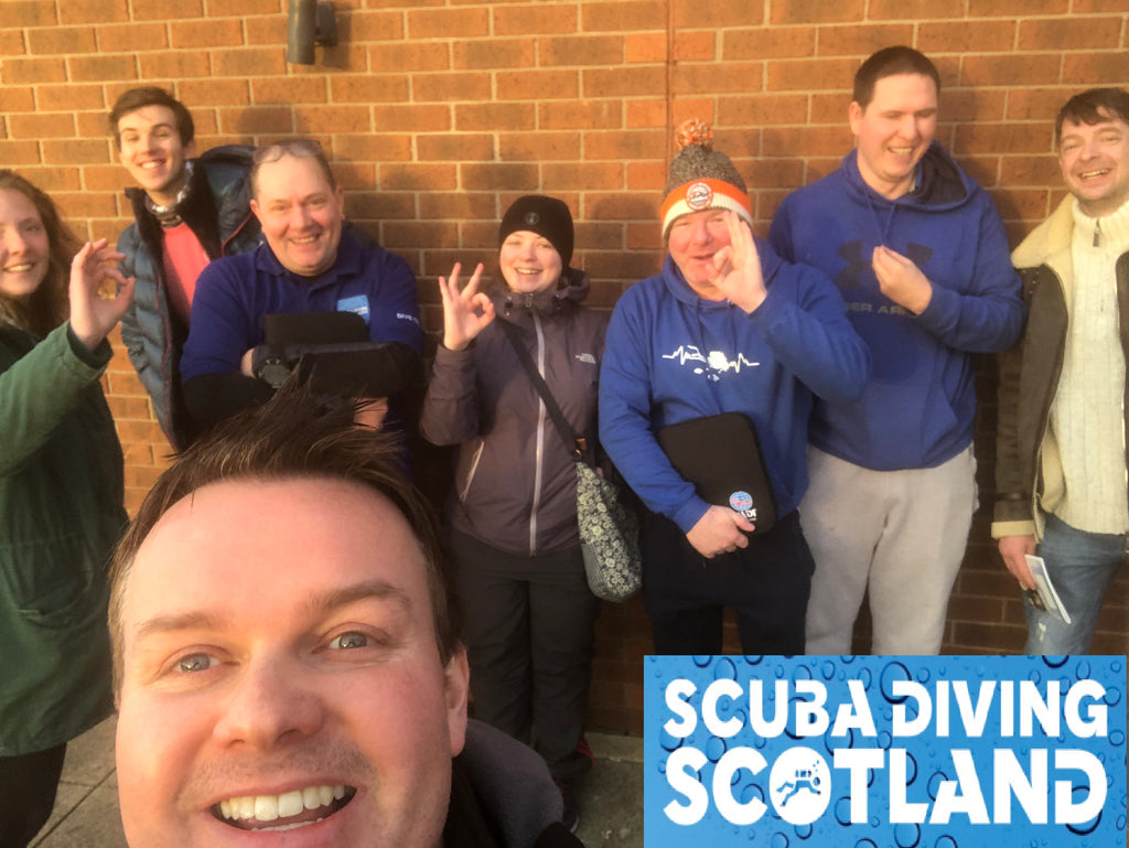Sunday 21st January 2019 - PADI DLD at The A Frames, Finnart, Loch Long