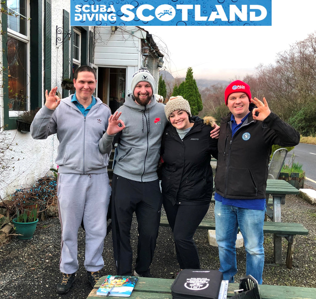 Diving Day - Sunday 17th February 2019 at Loch Long