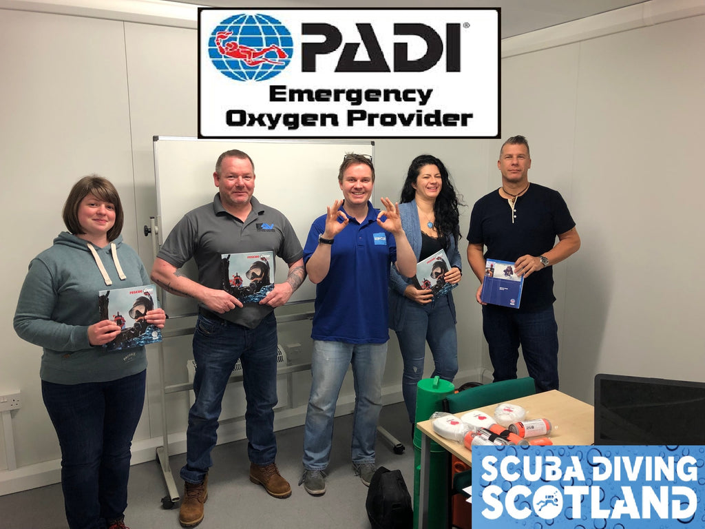 PADI Rescue and Emergency Oxygen Provider Speciality