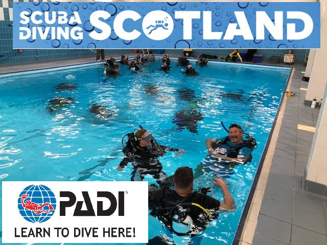 SCUBA DIVING SCOTLAND Pool Session Summer 2019