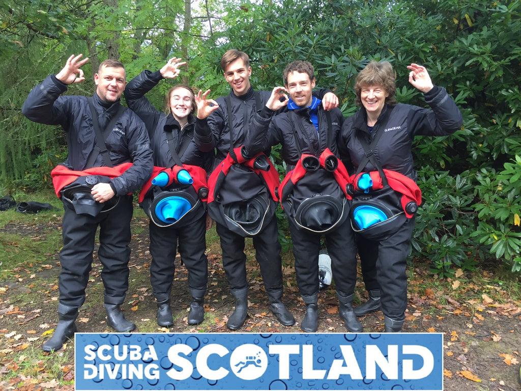 Diving Day Saturday 23rd September 2017 - 'The 29 Steps' Loch Long