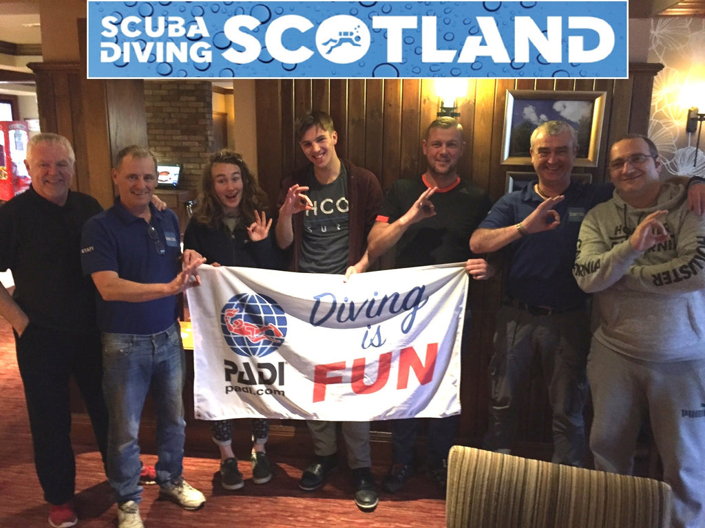 Diving Day Sunday 24th September 2017 - 'The 29 Steps' Loch Long