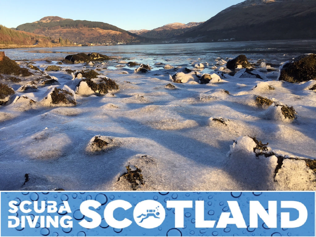 Diving in a Winter Wonderland! Sunday 10th Dec 2017 Conger Alley Loch Long