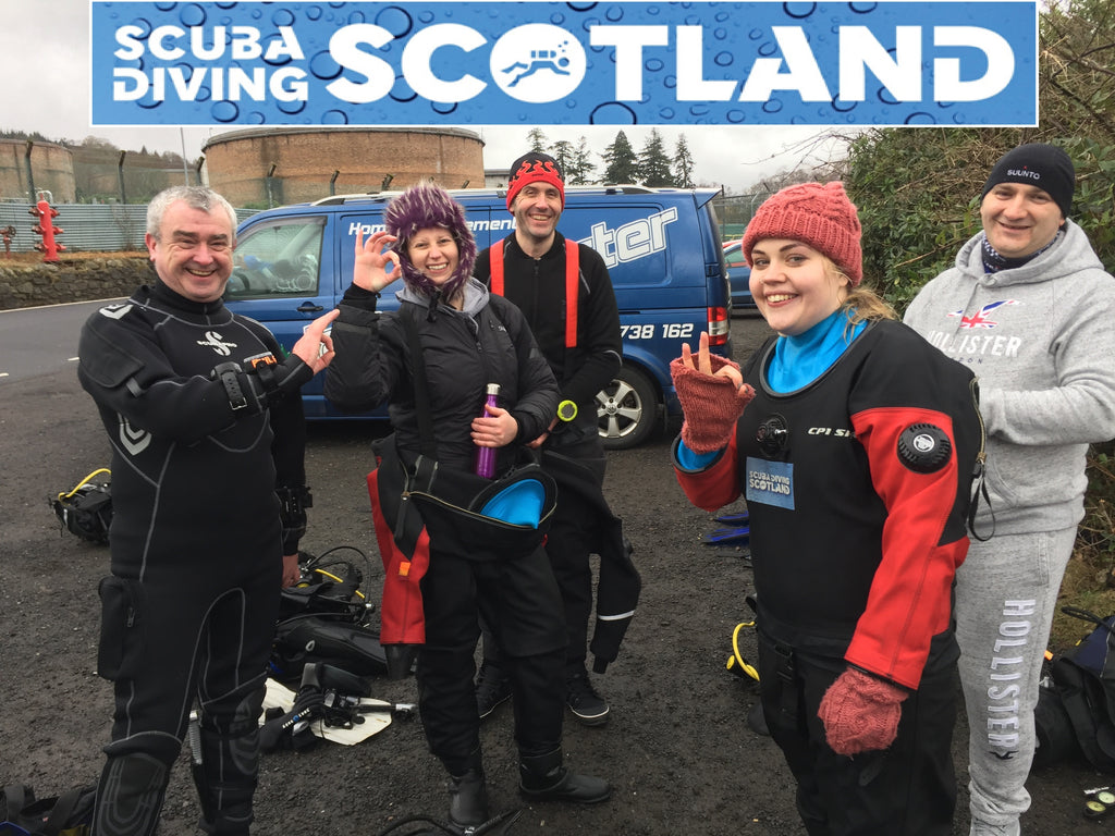 Diving Sunday 14th January 2018 - A Frames Loch Long