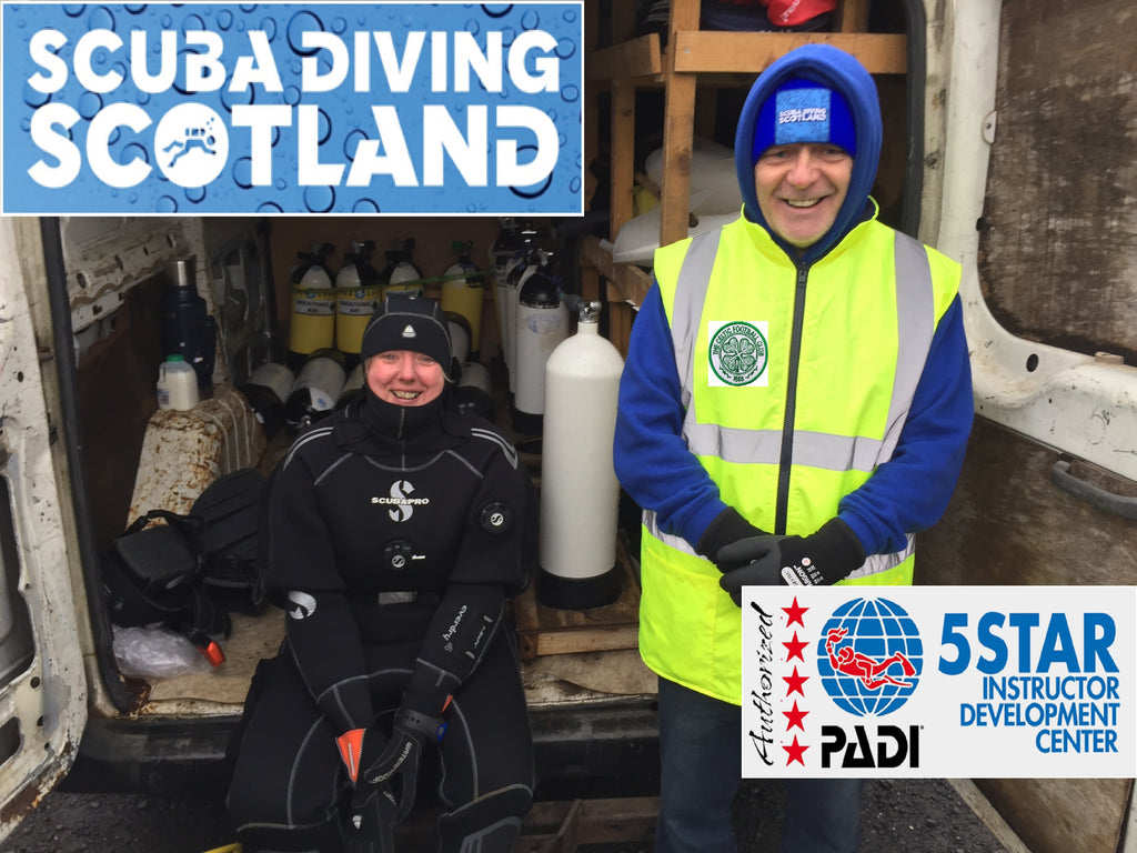 Ian & Cheryl passed their PADI Divemaster Exams