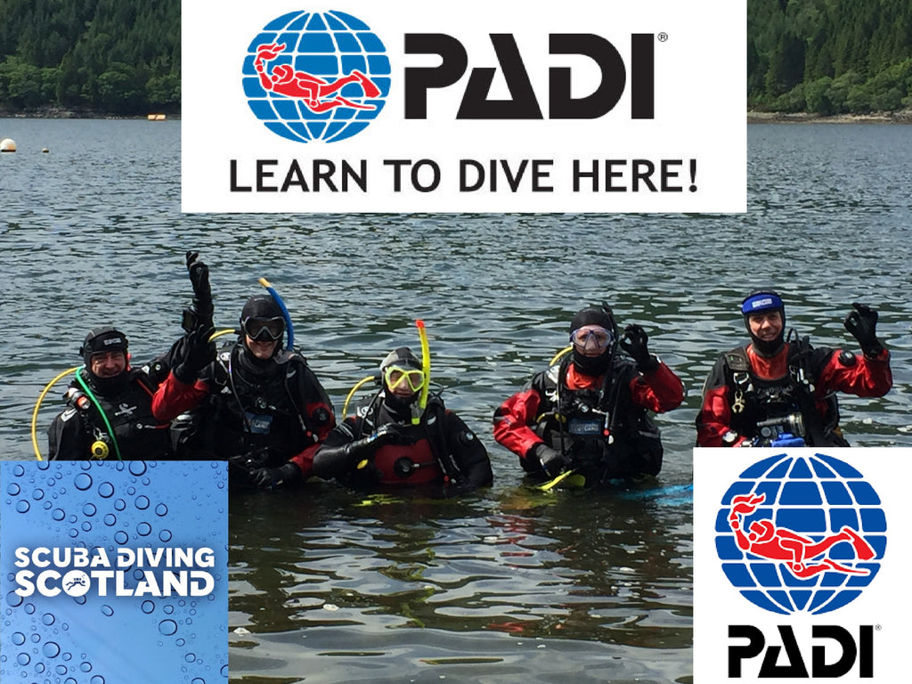 PADI Open Water Course - 9th & 10th June 2018 - The 29 Steps, Loch Long.