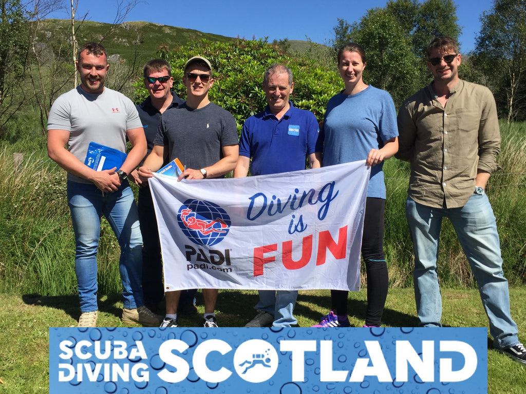 SCUBA DIVING SCOTLAND Diving Day Sunday 24th June 2018 - A Frames, Loch Long.