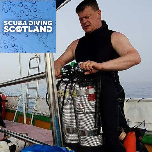 SCUBA DIVING SCOTLAND - Meet The Dive Team Ken Miller