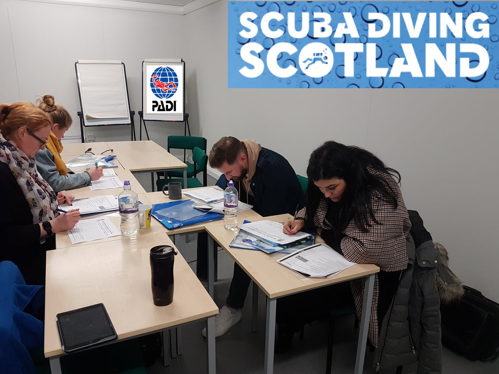 PADI Open Water Course class session - January 2019