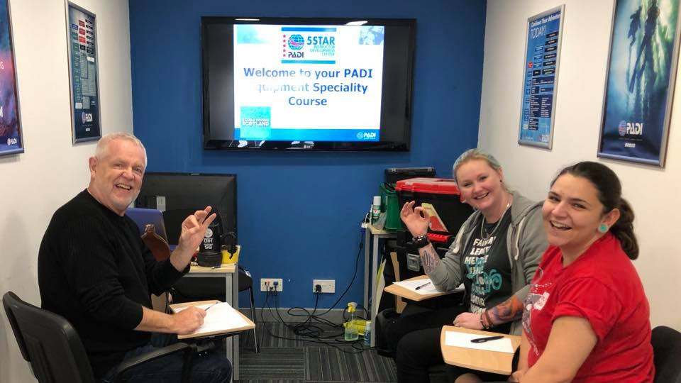 PADI Equipment Speciaility Course - 6th Sept 2019
