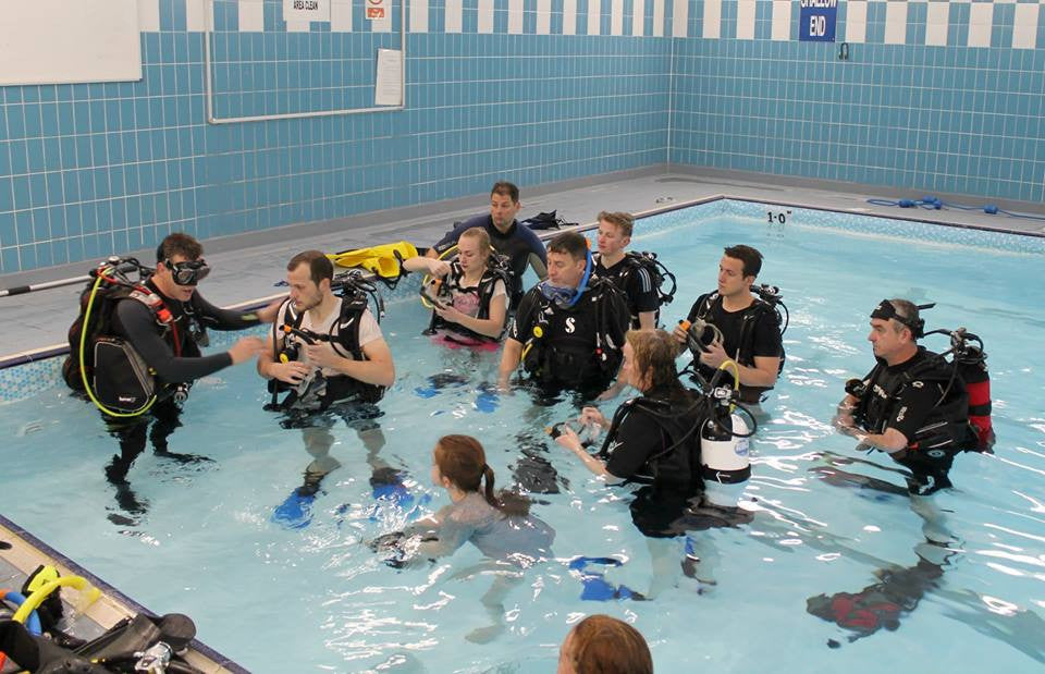 SCUBA DIVING SCOTLAND - Pool Session 3rd May 2017