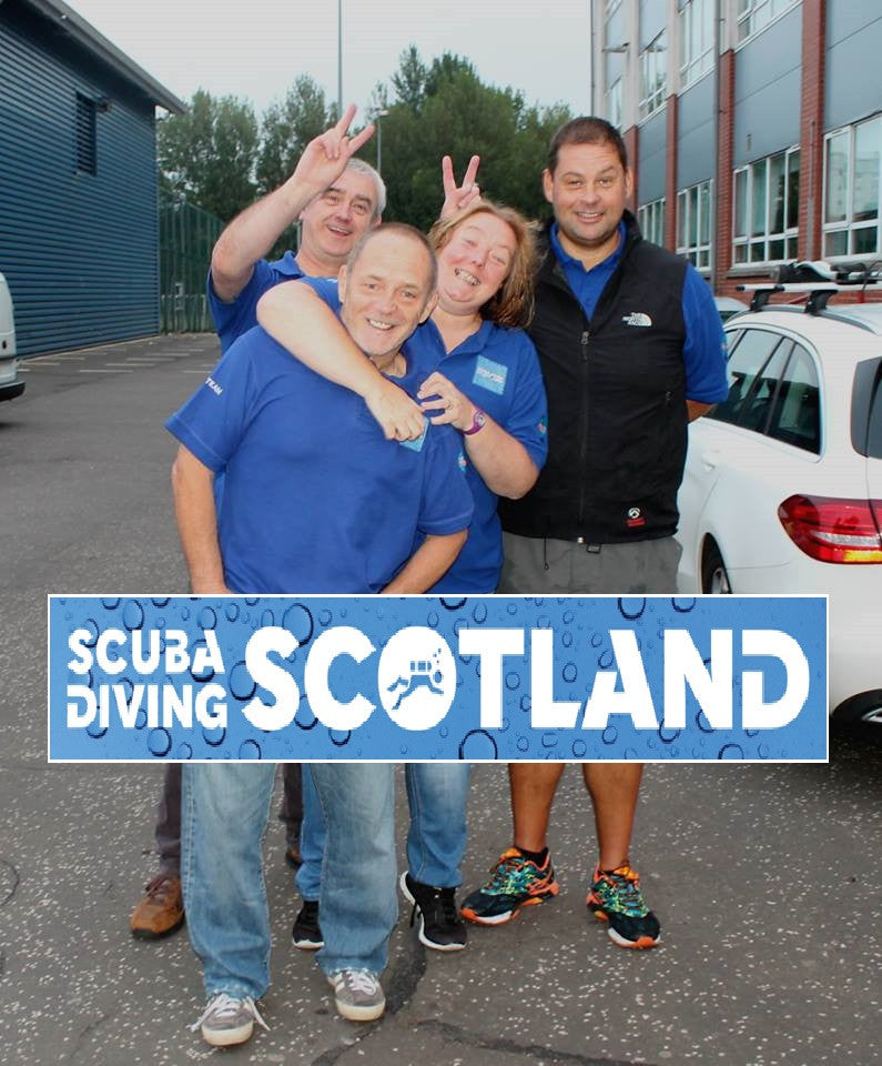 SCUBA DIVING SCOTLAND Pool Session 21st June 2017