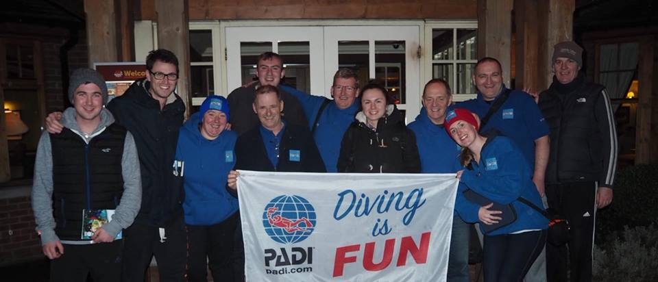 SDS Diving Day Sunday 19th Nov 2017 - Open Water & Search & Recovery Courses
