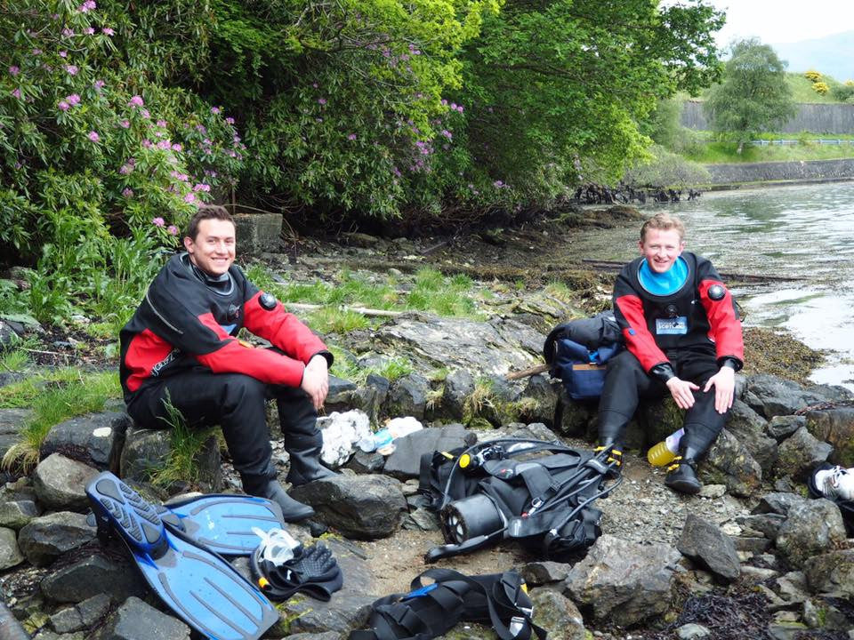 Saturday 27th May 2017 - Open Water & Discover Local Diving