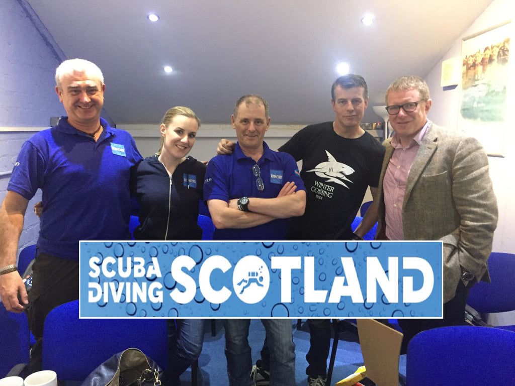 SCUBA DIVING SCOTLAND - PADI Pro Talk 'How to Become A PADI Instructor' 1st June 2017