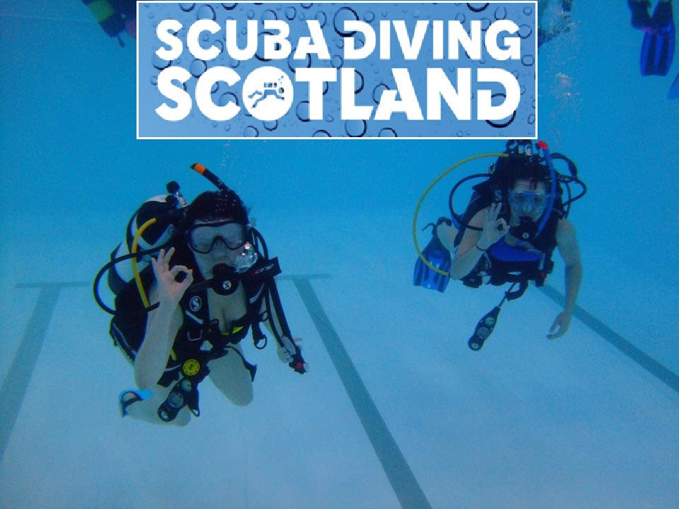 SCUBA DIVING SCOTLAND - Pool Session 7th June 2017