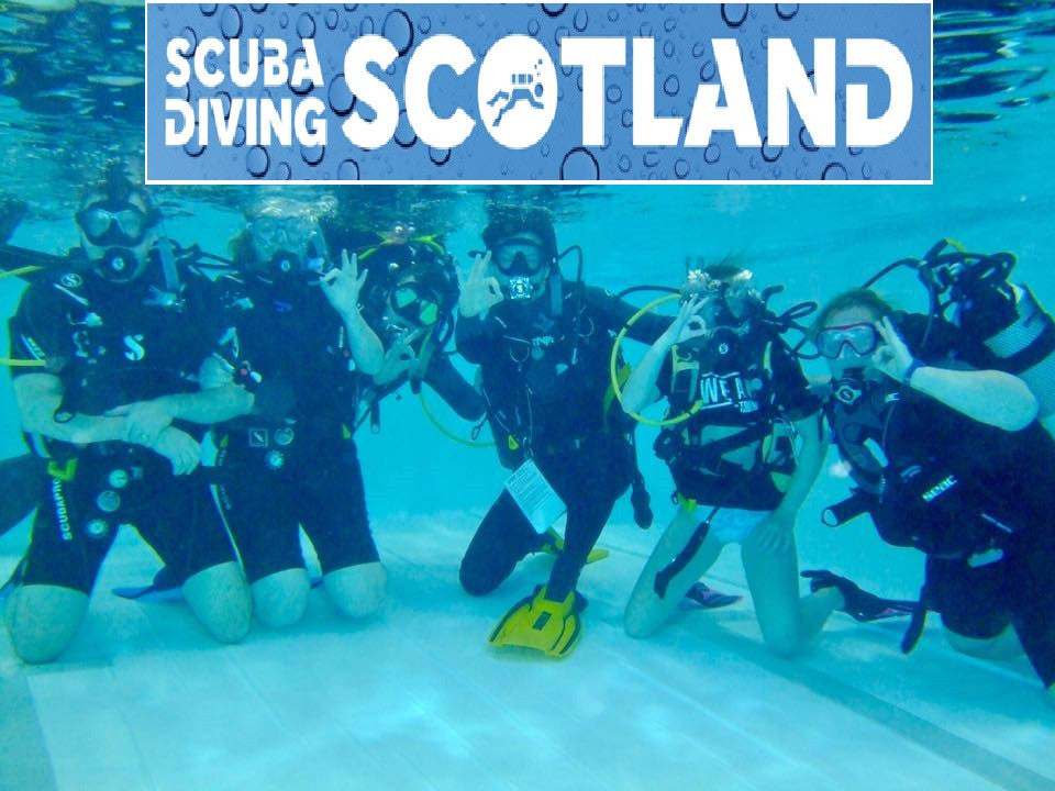 SCUBA DIVING SCOTLAND Pool Session - 17th May 2017