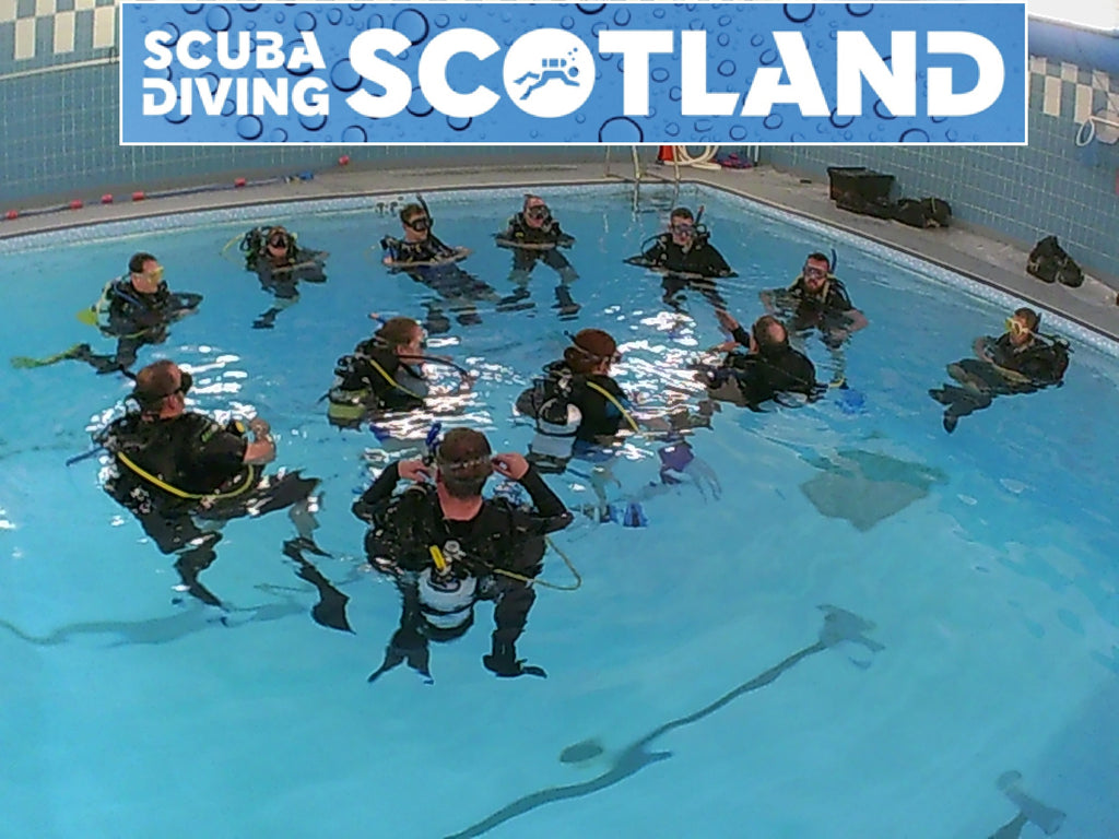 SCUBA DIVING SCOTLAND Pool Session Wed 29th Nov 2017 at Holyrood Pool.