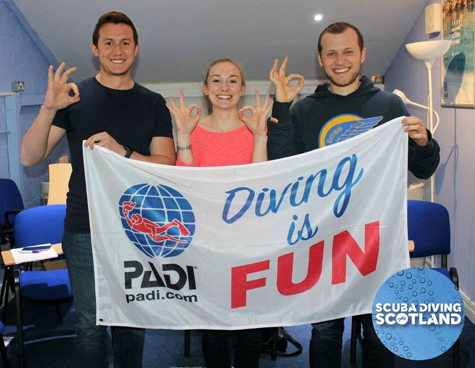 SCUBA DIVING SCOTLAND at the Scottish Dive Show 2017