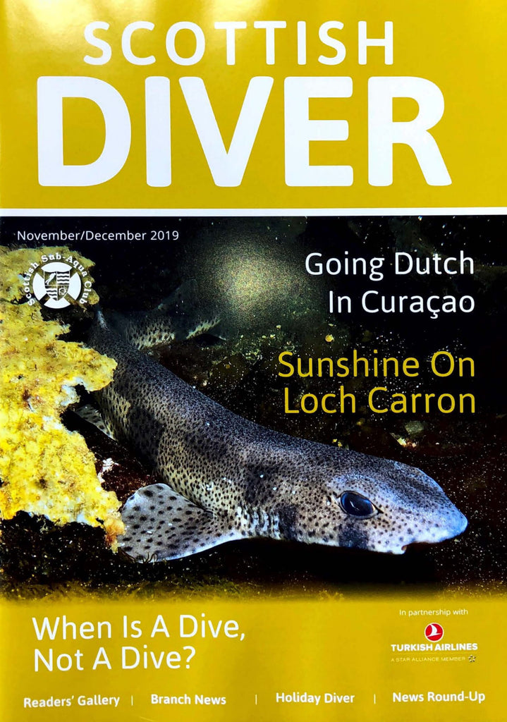 Scottish Diver Nov-Dec 2019 Out Now!