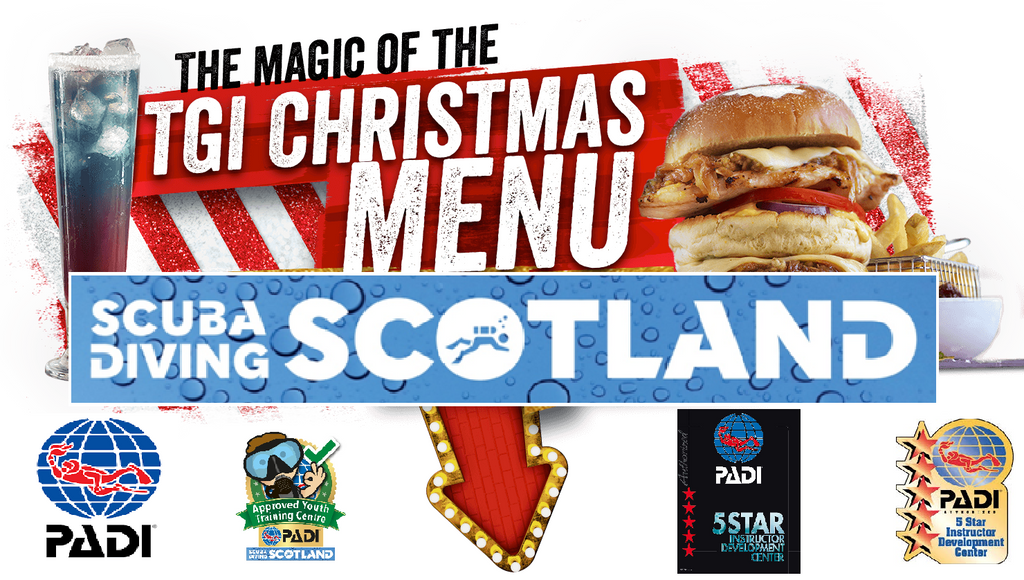 SCUBA DIVING SCOTLAND Christmas Night Out 2017