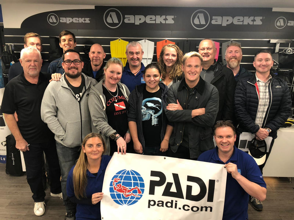 PADI Nitrox Speciality Course - September 2019