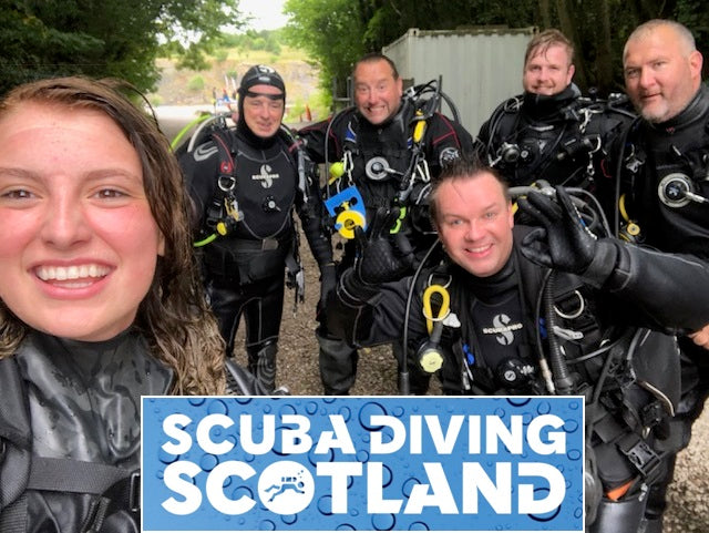Capernwray Diving 02.08.2018 - PADI Wreck and Peak Performance Buoyancy Speciality Courses