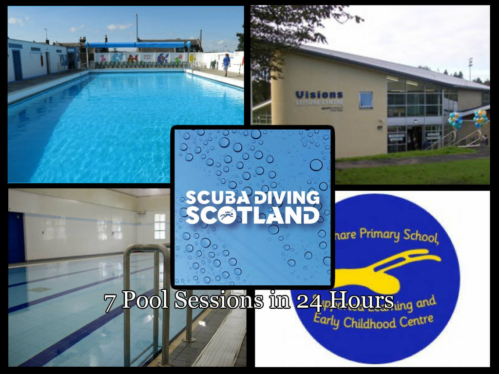 Busy, Busy, Busy!  x7 Pool Sessions in x4 different pools in 24 hours!!!!